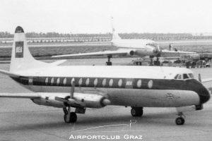 British European Airways Vickers Viscount