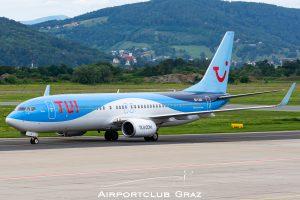 TUIfly Belgium Boeing 737-8K5 OO-JAQ