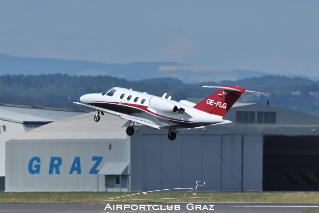 Smartline Cessna 525 CitationJet 1 OE-FLG