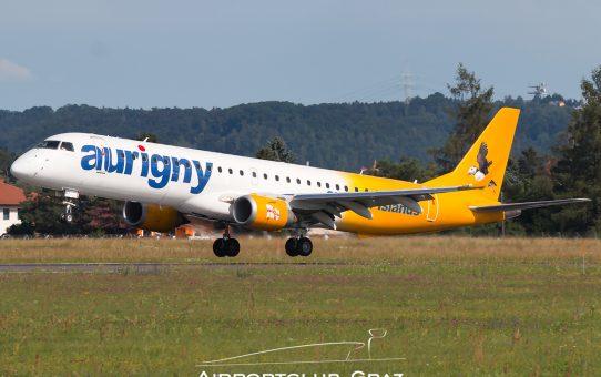 Aurigny Air Services in Graz