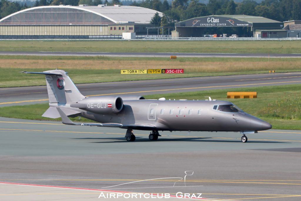 Laudamotion Executive Learjet 60 OE-GLJ