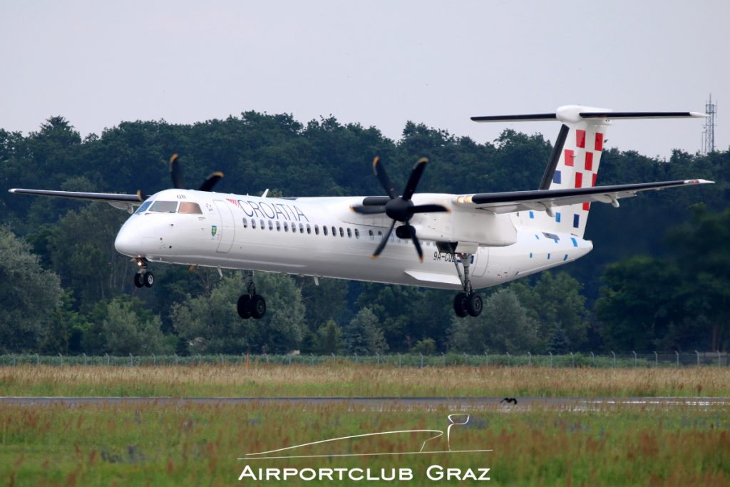 Croatia Airlines Q400 9A-CQB