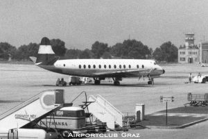 Austrian Airlines Vickers Viscount 837 OE-LAL