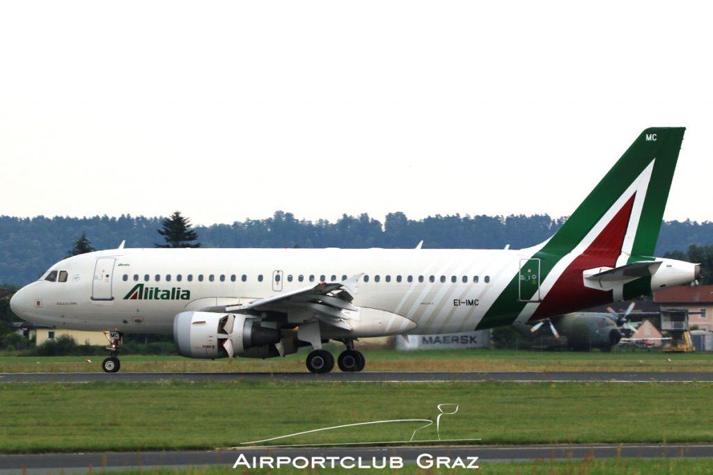 Alitalia Airbus A319-112 EI-IMC