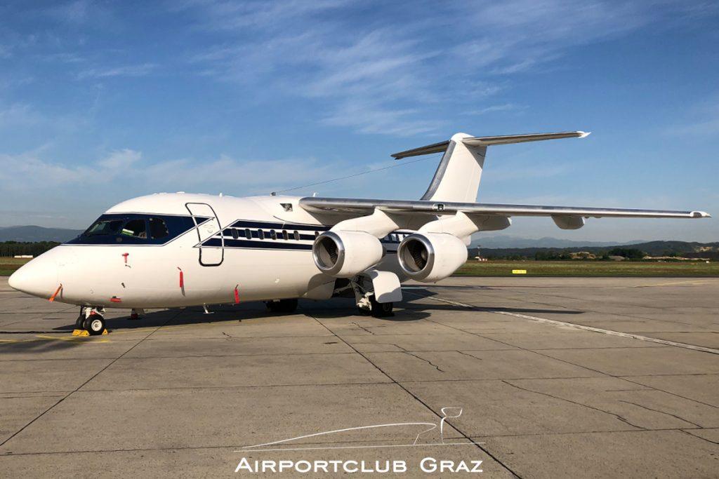 Formula One Management BAe 146-100 G-OFOM