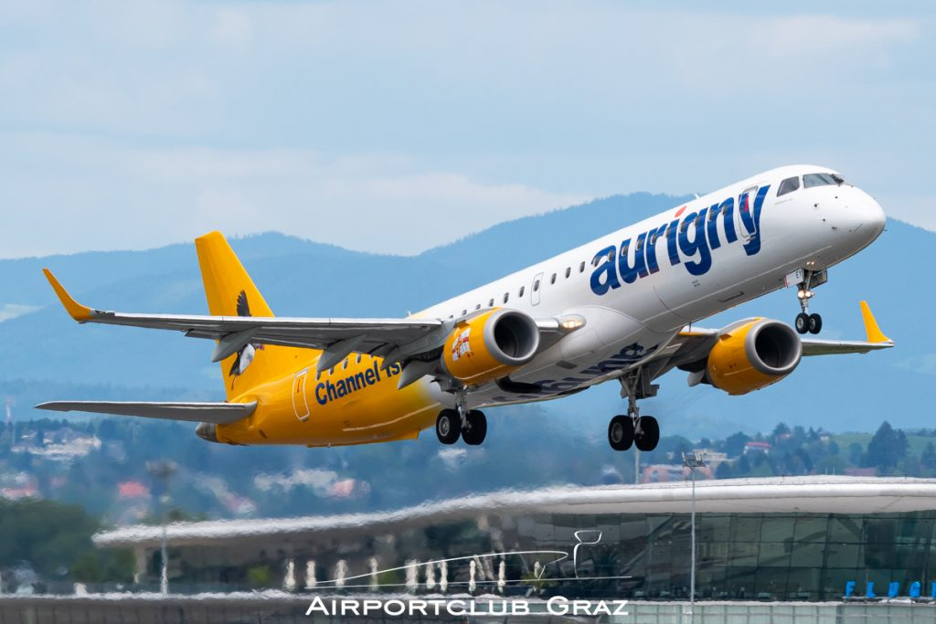 Aurigny Air Services Embraer 195 G-NSEY