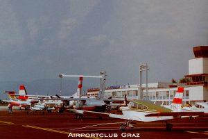 Flughafen Graz 1992
