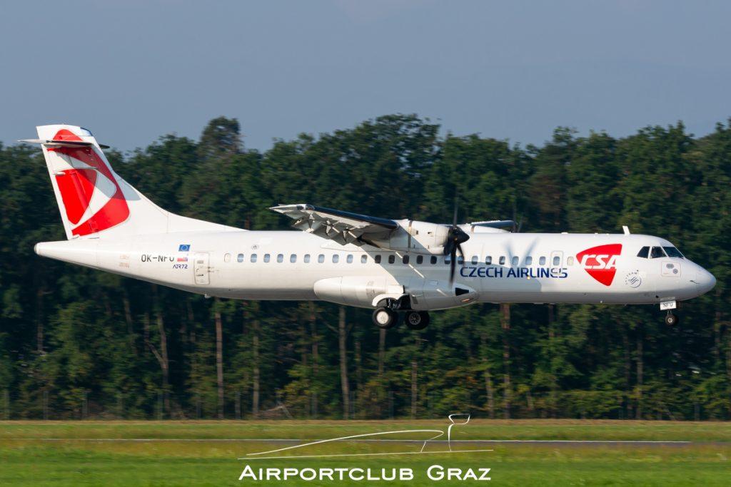CSA Czech Airlines ATR 72-212A OK-NFU