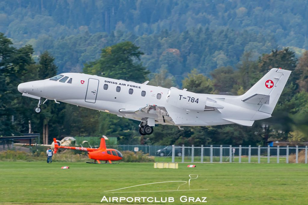 Swiss Air Force Cessna 560XL Citation Excel T-784