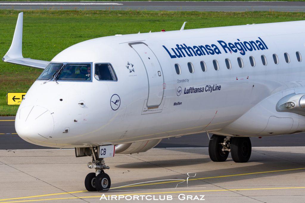 Lufthansa Cityline Embraer 190LR D-AECB