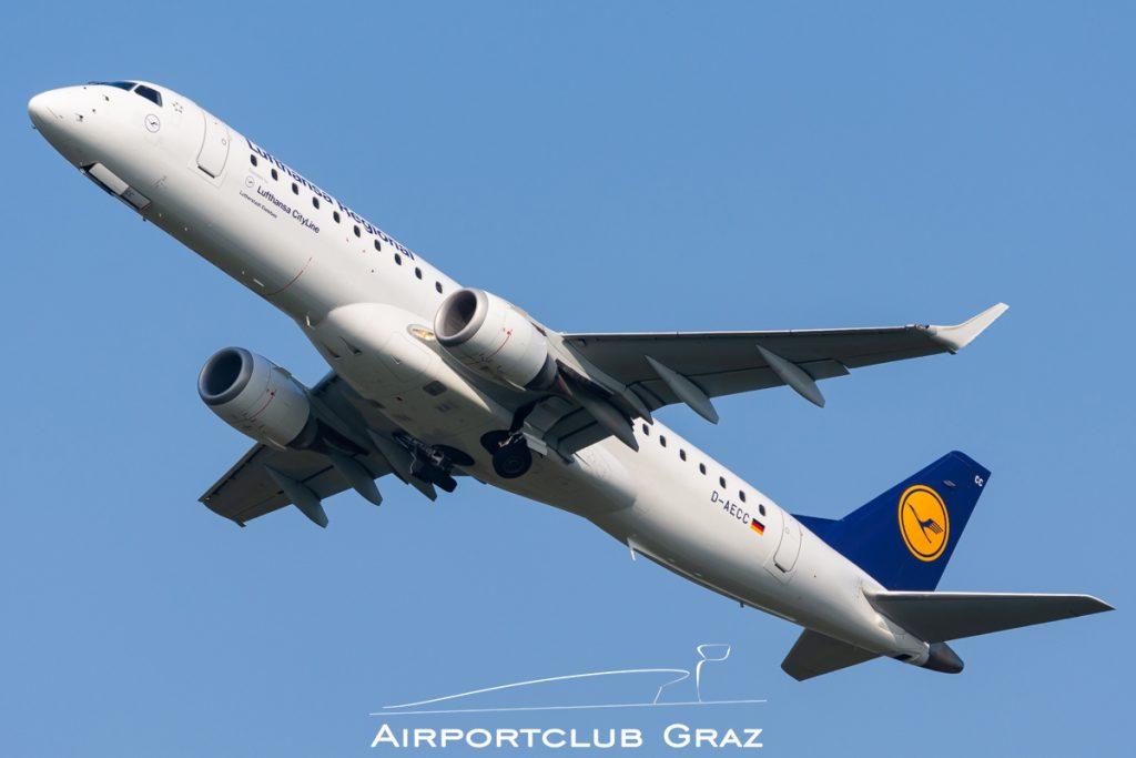 Lufthansa Cityline Embraer 195LR D-AECC