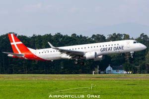 Great Dane Airlines Embraer 195 OY-GDA