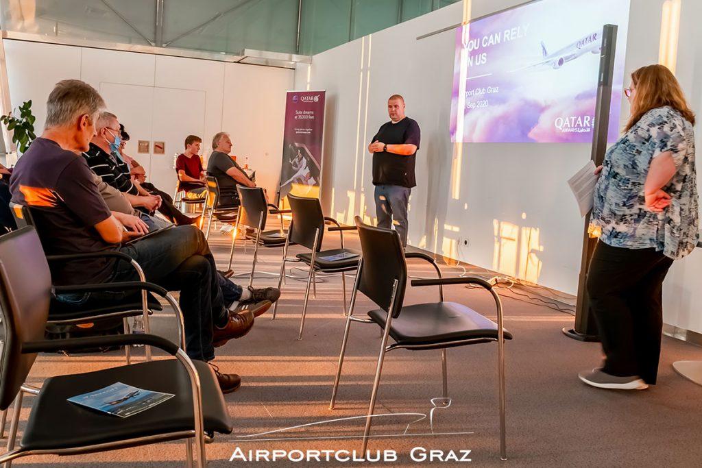 Airline-Präsentation Qatar Airways