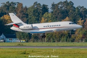 NetJets Europe Dassault Falcon 2000EX CS-DLD