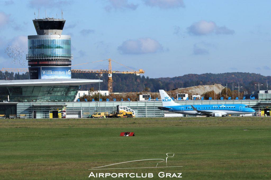 KLM Cityhopper Embraer 175 PH-EXL