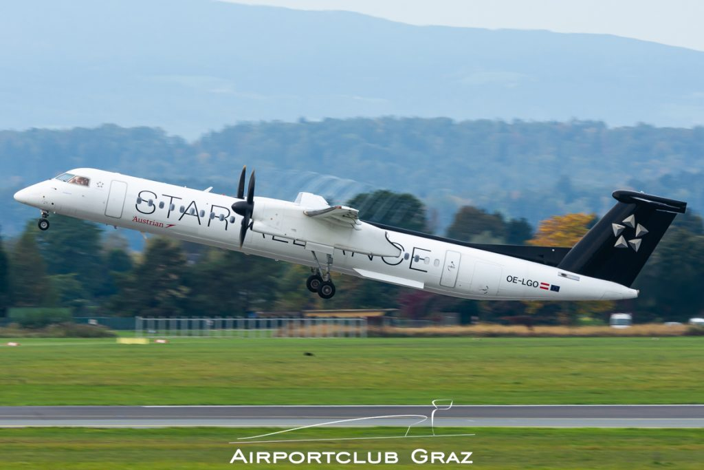 Austrian Airlines Q400 OE-LGO
