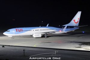 TUI Airlines Nederland Boeing 737-8K5 OO-TNB