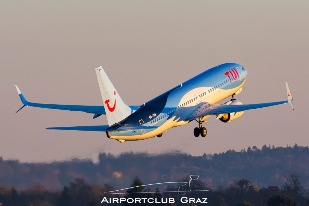 TUI Airlines Nederland Boeing 737-8K5 OO-TNB