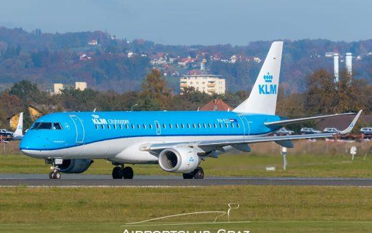 KLM setzt Strecke nach Graz aus
