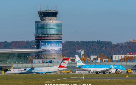 Flughafen Graz begrüßt die geplanten Lockerungen der Reisebeschränkungen