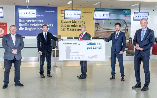 Neue Geschäftsführung am Flughafen Graz