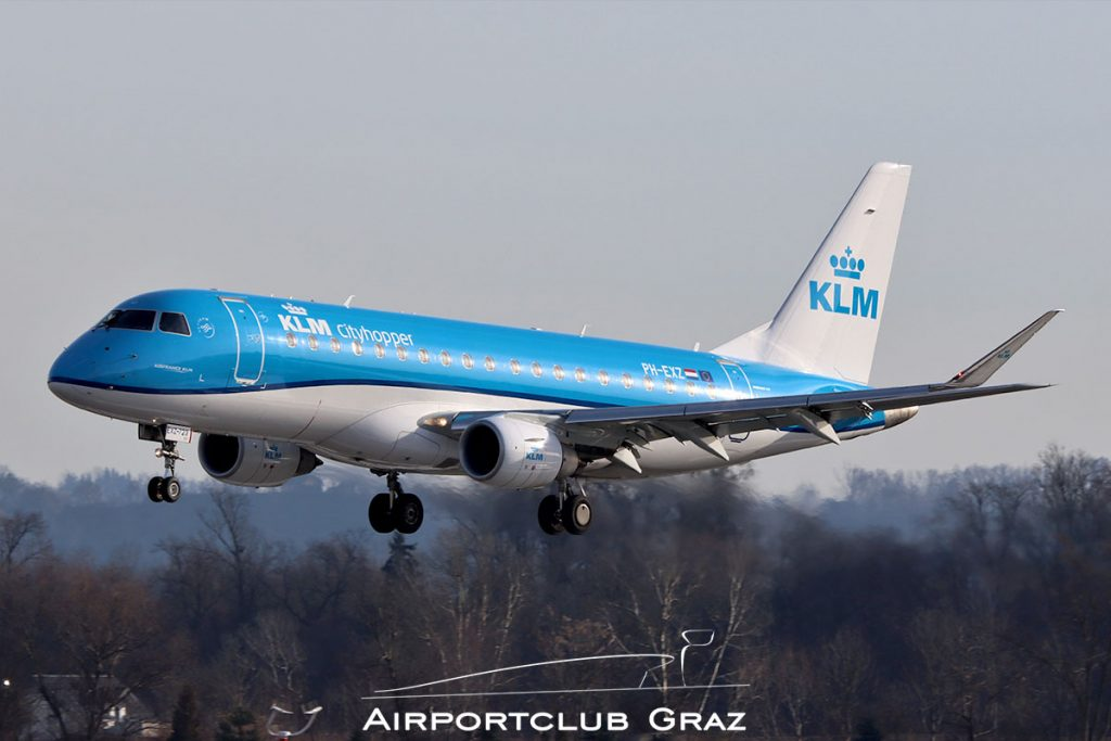 KLM Cityhopper Embraer 175 PH-EXZ