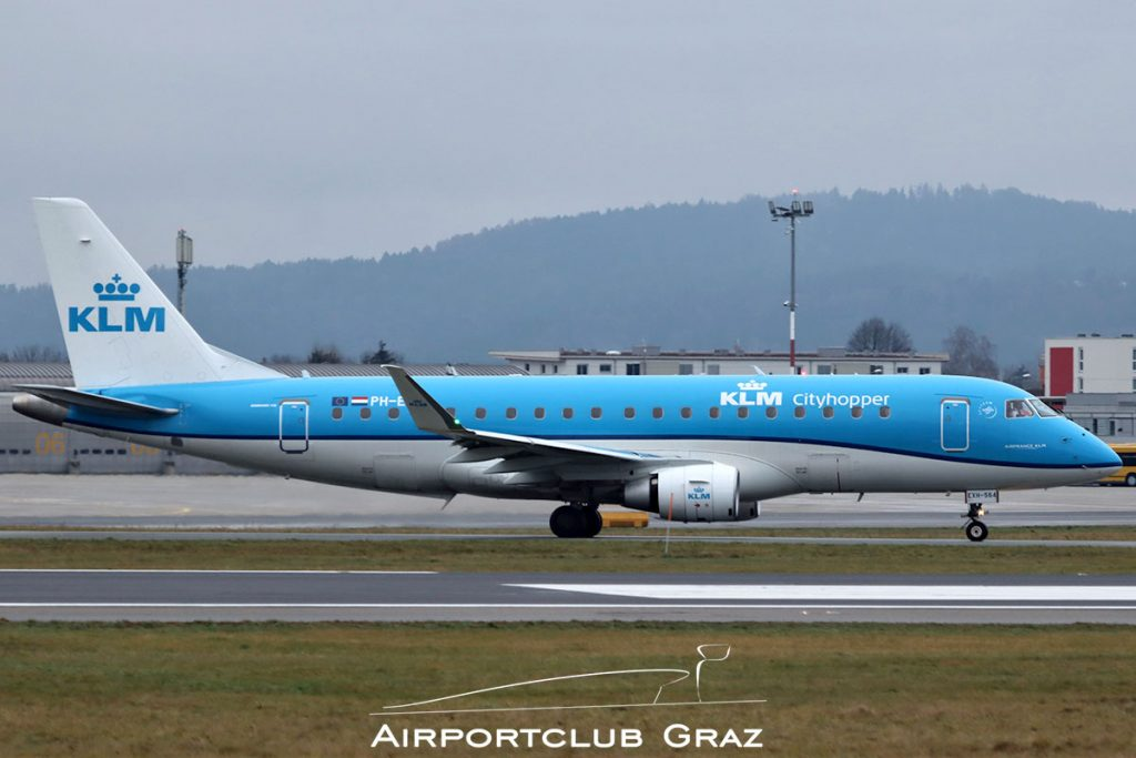 KLM Cityhopper Embraer 175 PH-EXH