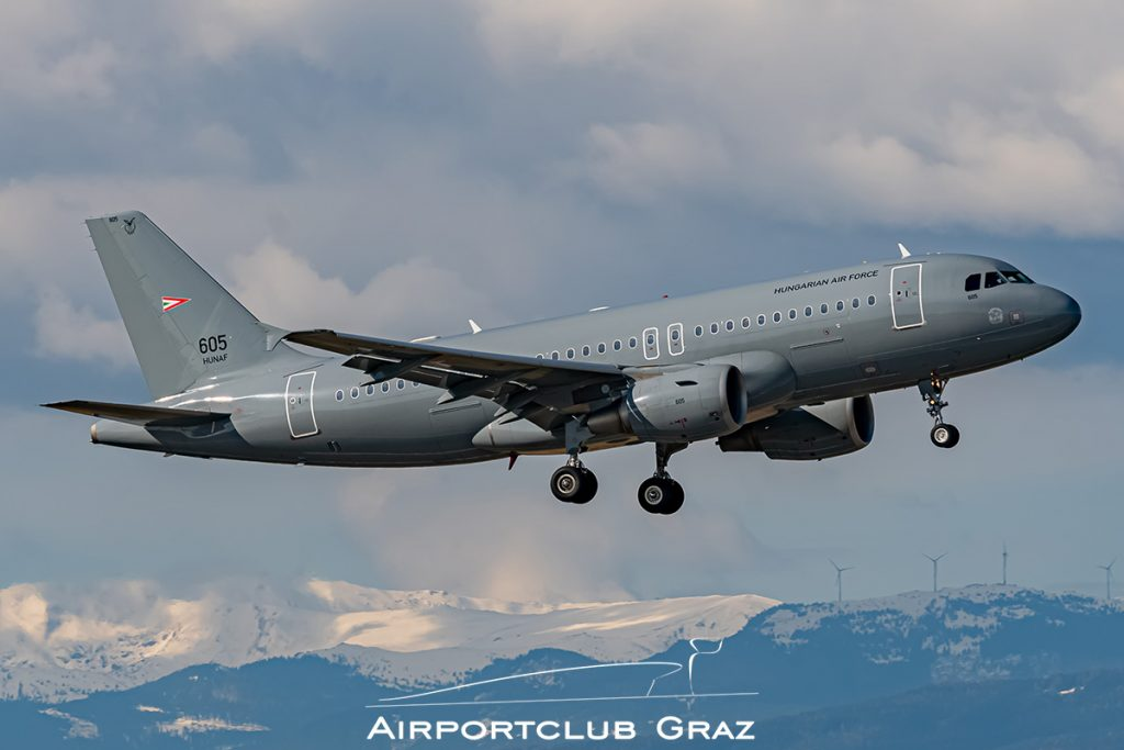 Hungary Air Force Airbus A319-112 605