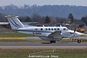 Beechcraft 200 Super King Air G-GHSV
