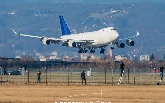Spottertipp: Aerotranscargo Boeing 747 in Graz