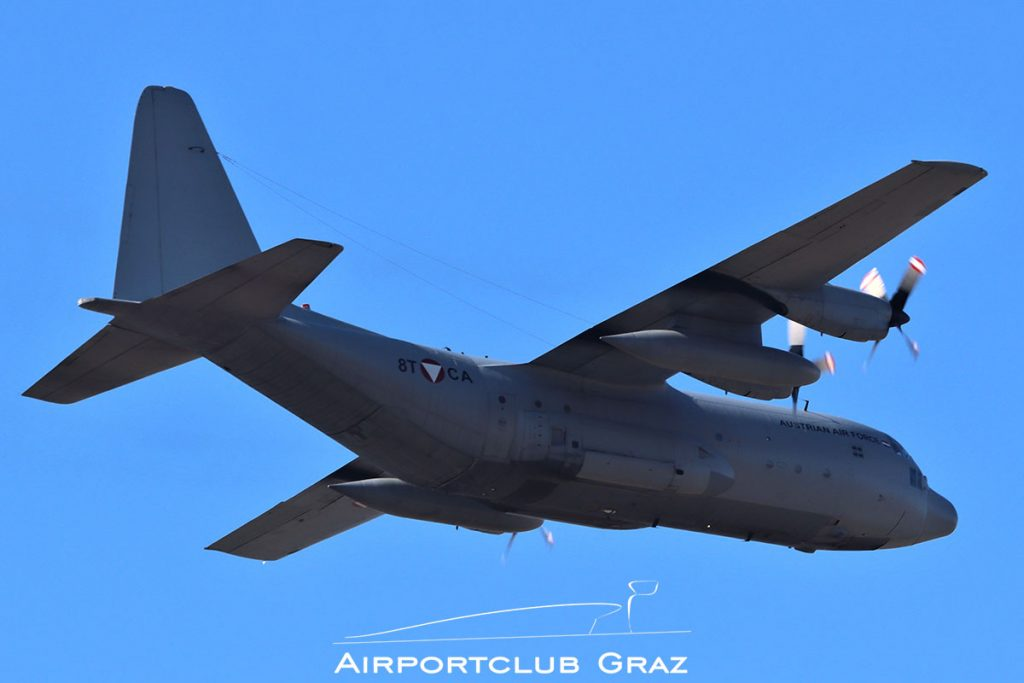 Bundesheer Lockheed C-130K Hercules 8T-CA