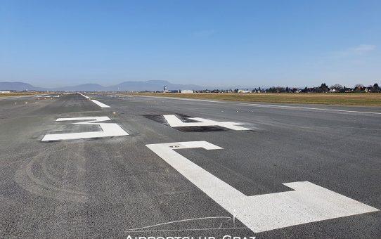 Pistenumbenennung am Flughafen Graz vollzogen