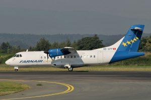 Farnair Switzerland ATR 42-320 HB-AFF