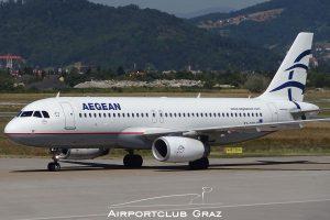 Aegean Airlines Airbus A320-232 SX-DVS