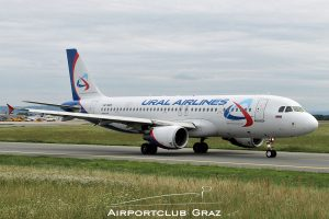 Ural Airlines Airbus A320-214 VQ-BRE