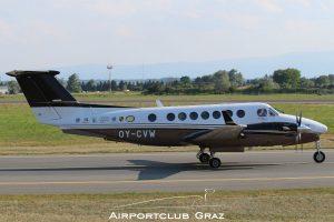 Beechcraft B300 King Air 350 OY-CVW