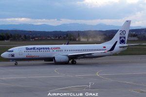 SunExpress Boeing 737-8HC TC-SNF