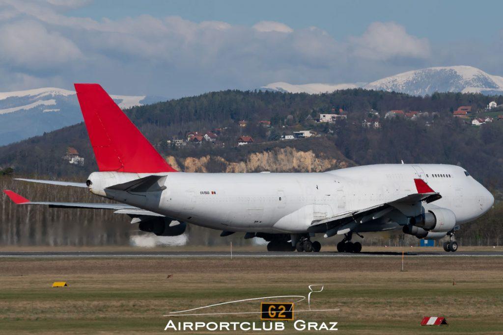 Aerotranscargo Boeing 747-433(BDSF) ER-BBB