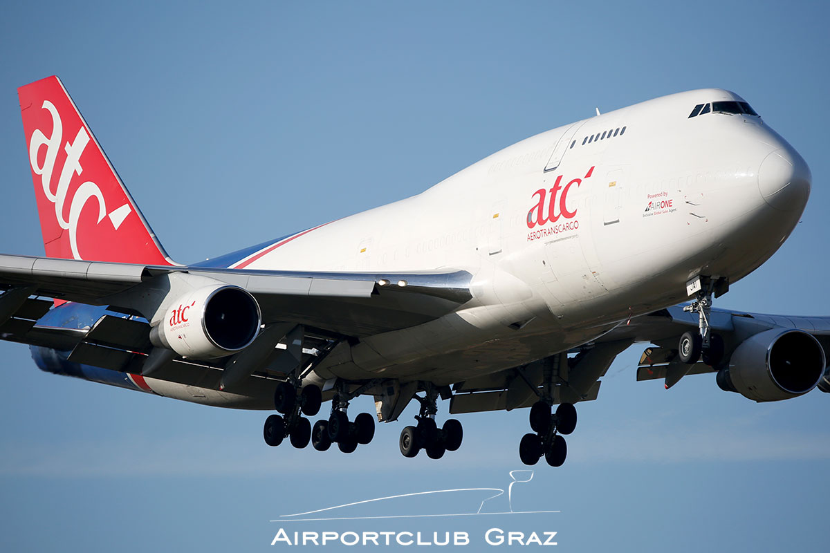 Aerotranscargo Boeing 747-412(BDSF) ER-JAI
