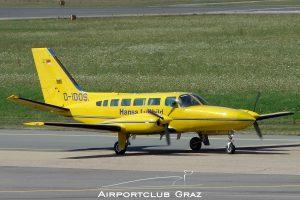Hansa Luftbild Cessna 404 Titan D-IDOS