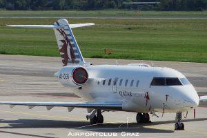 Qatar Executive Bombardier CL-600-2B16 Challenger 605 A7-CEG