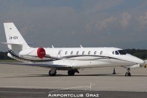 Sundt Air Cessna 680 Citation Sovereign LN-SOV