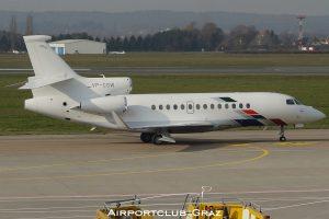 VW Air Services Dassault Falcon 7X VP-CSW