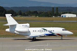 VW Air Services Dassault Falcon 900EX VP-CGD