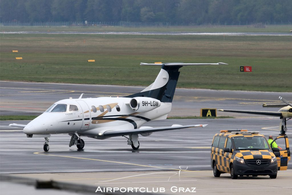 Luxwing Embraer 500 Phenom 100 9H-LGM