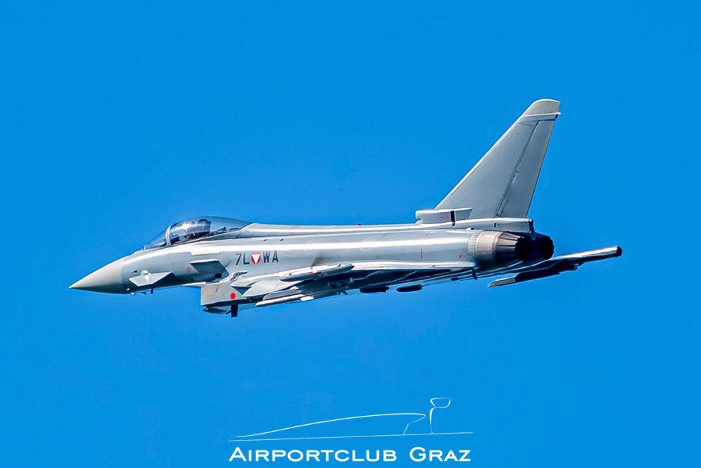 Bundesheer Eurofighter Typhoon EF2000 7L-WA