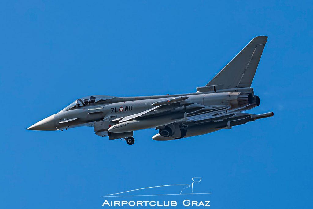 Bundesheer Eurofighter Typhoon EF2000 7L-WD
