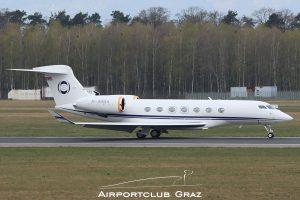 Hampshire Aviation Ltd Gulfstream G550 M-USIC