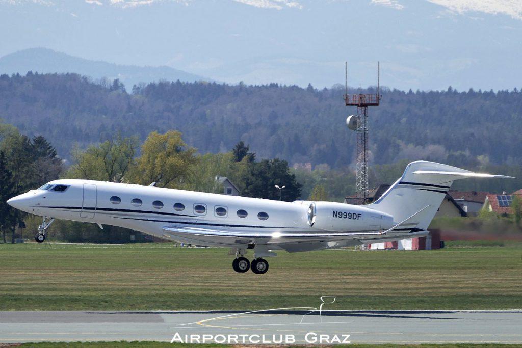 Benson Pacific Gulfstream G650 N999DF
