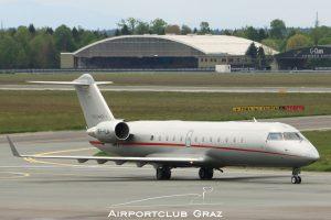 VistaJet Bombardier CL-600-2B19 Challenger 850 9H-ILA